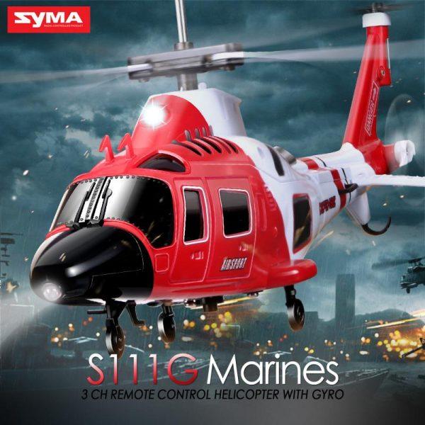هلیکوپتر 3/5 کانال سایما s111g