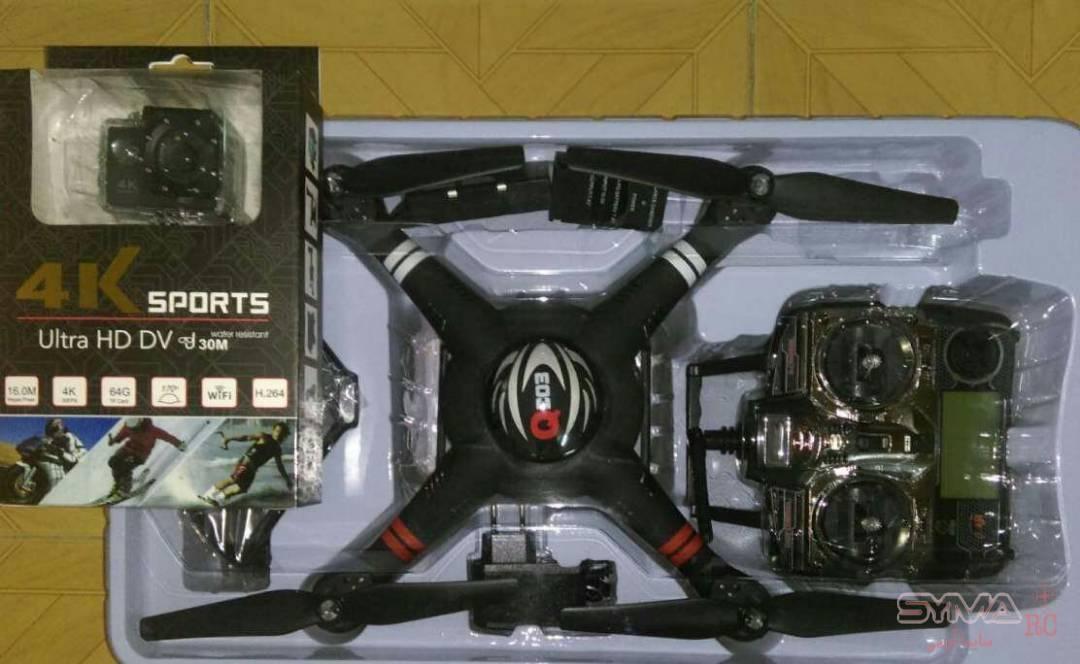 پک کوادکوپتر q303 دوربین 4k