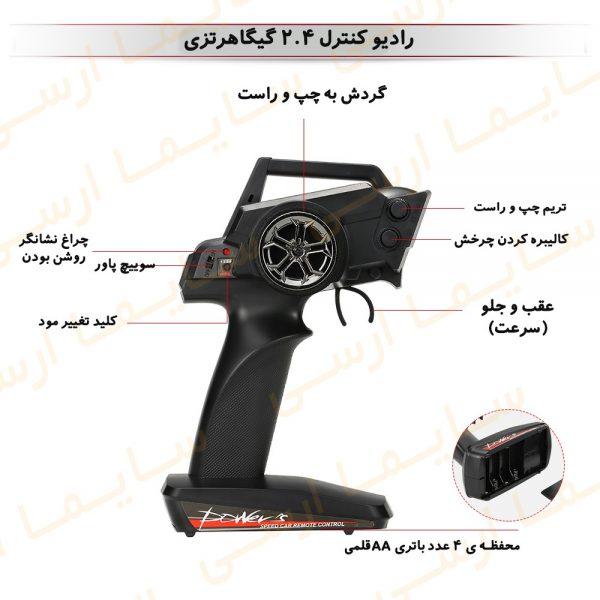 رادیو کنترلماشین کنترلی WL Toys 12428