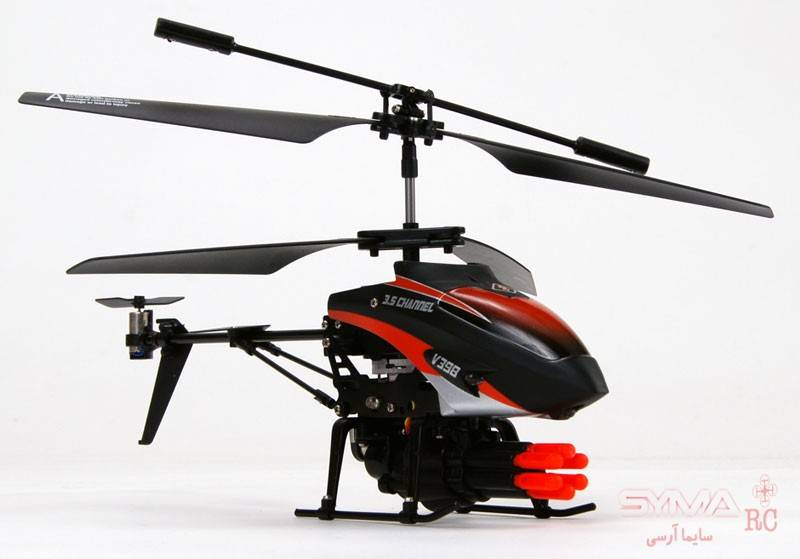 هلیکوپتر کنترلی تیر انداز V398