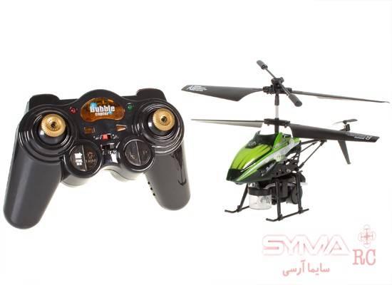 ریموت کنترل هلیکوپتر کنترلی حباب ساز WL Toys V757