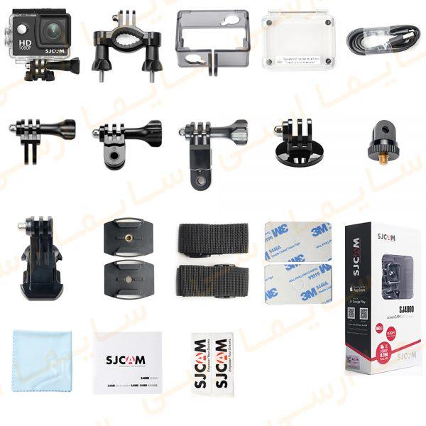 اقلام همراه دوربین ورزشی ۴k