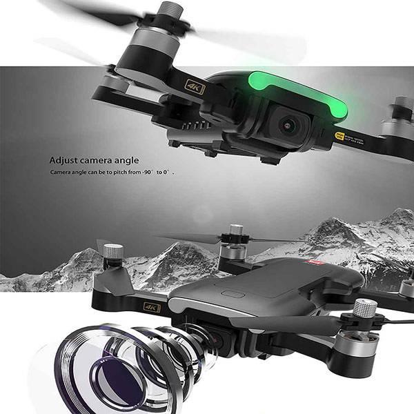ویژگی های دوربین 4K هلی شات MJX Bugs w7