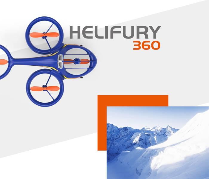 آپشن چرخش 360 درجه ای و انجام حرکات سه بعدی 3D آکروباتیک هلیکوپتر سایما Syma TF1001
