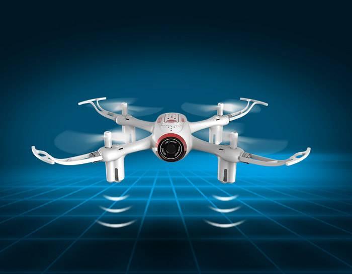 قابلیت پرواز در شب و چراغ های LED نمایشی پهپاد Syma-X22SW