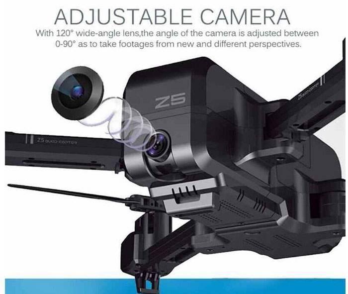 مشخصات دوربین هلی شات z5 قابل تنظیم و با کیفیت 1080 پیکسل
